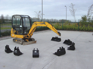 Mini Digger Buckets